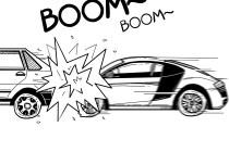 奥迪R8惨烈车祸 遇到借车我们到底借不借
