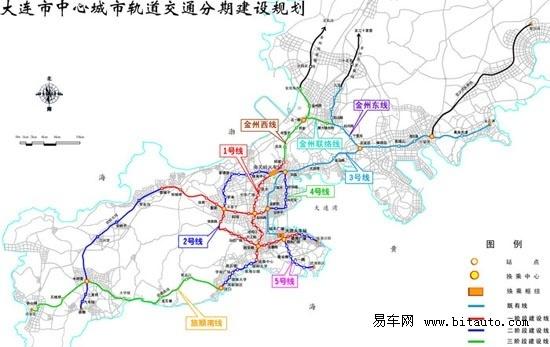 大连地铁规划图 厦门地铁 北京地铁30号线几站图片
