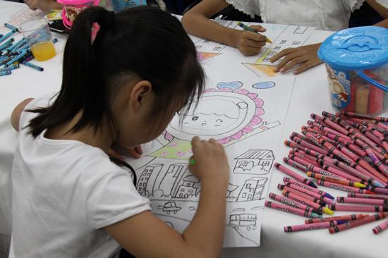 中达桂宝2011bmw儿童爱心绘画比赛图片
