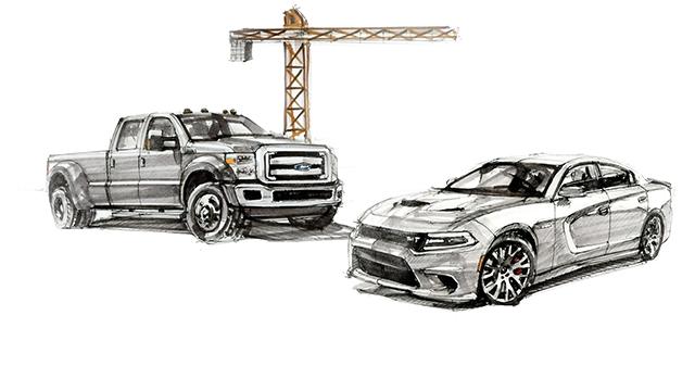 大炮评车:美国大肌肉车