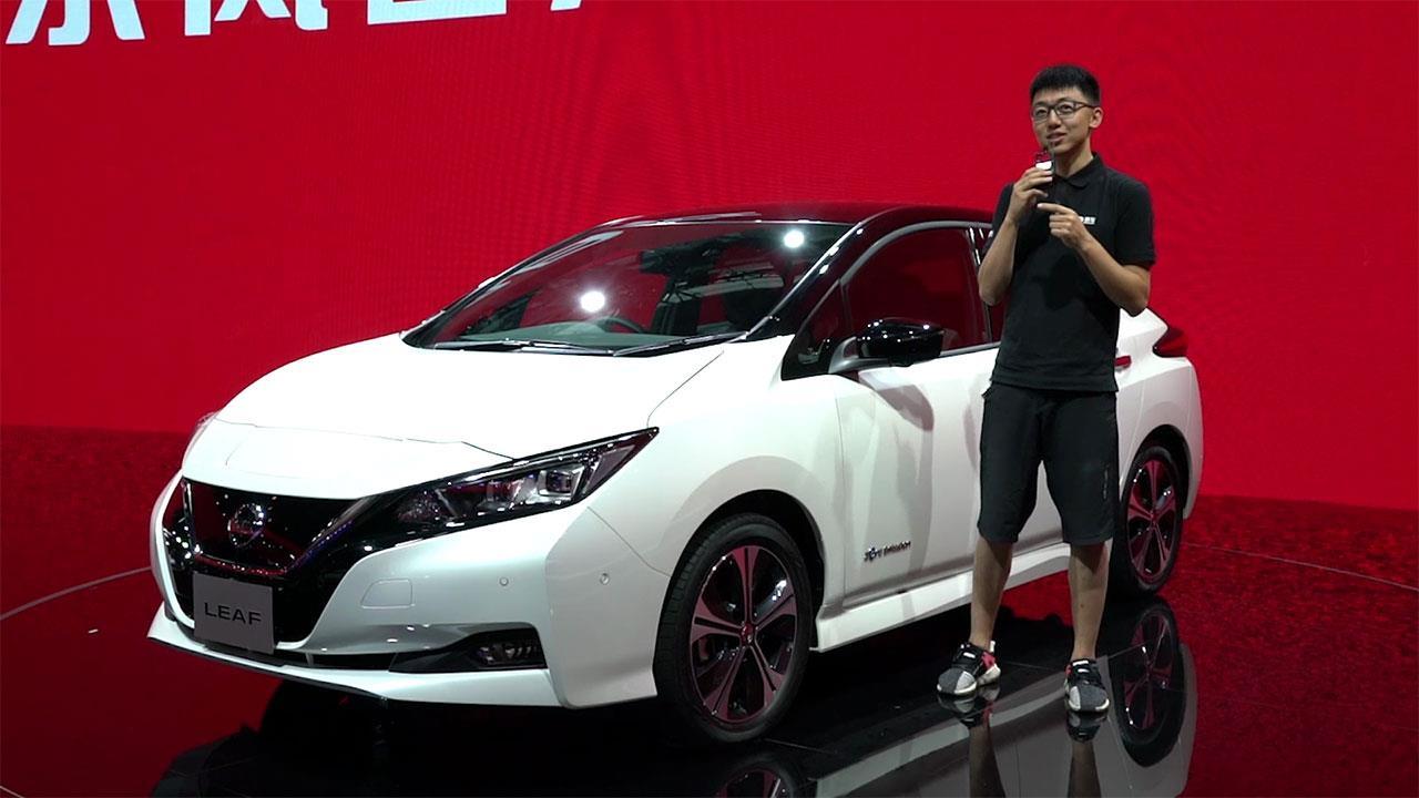 2017广州车展:日产全新聆风 400公里续航加持