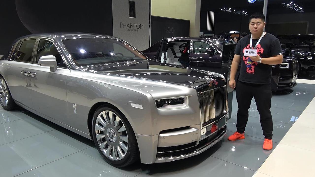 人类汽车工业豪华取向的巅峰作品 评劳斯莱斯幻影