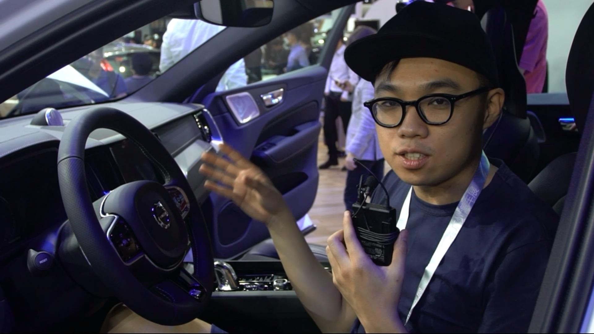 吴佩频道:广州车展沃尔沃全新XC60全国首次亮相
