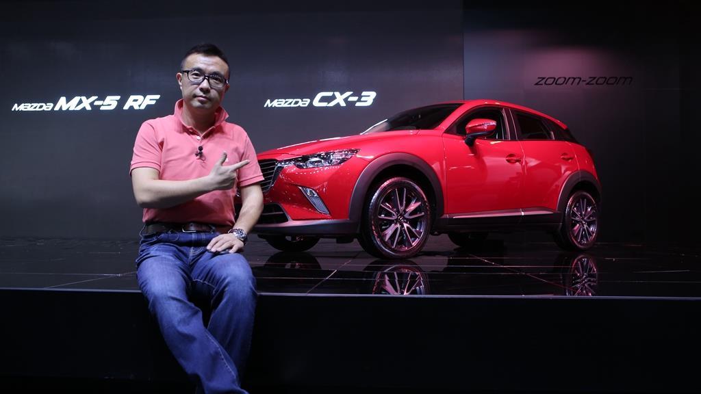 毒舌汽车 马自达CX-3 SUV小辣椒