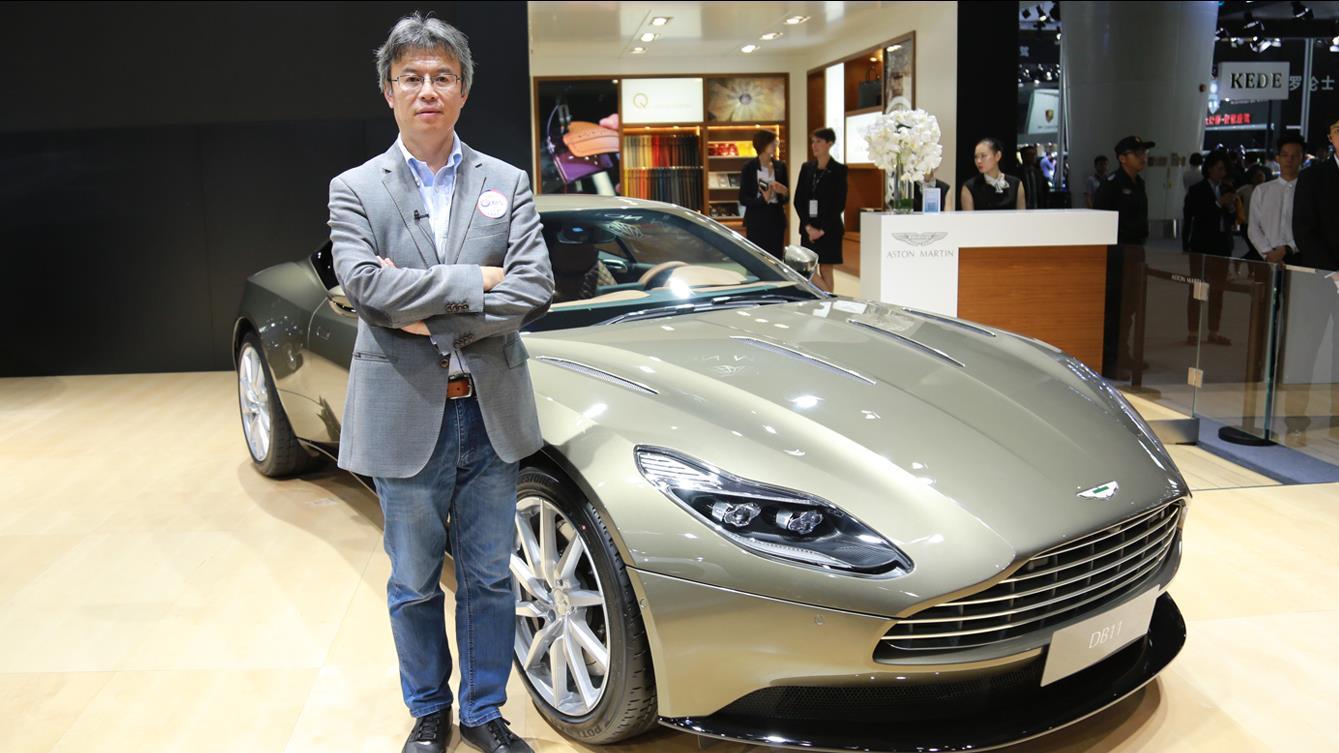 2017广州车展 夏东解读阿斯顿马丁DB11