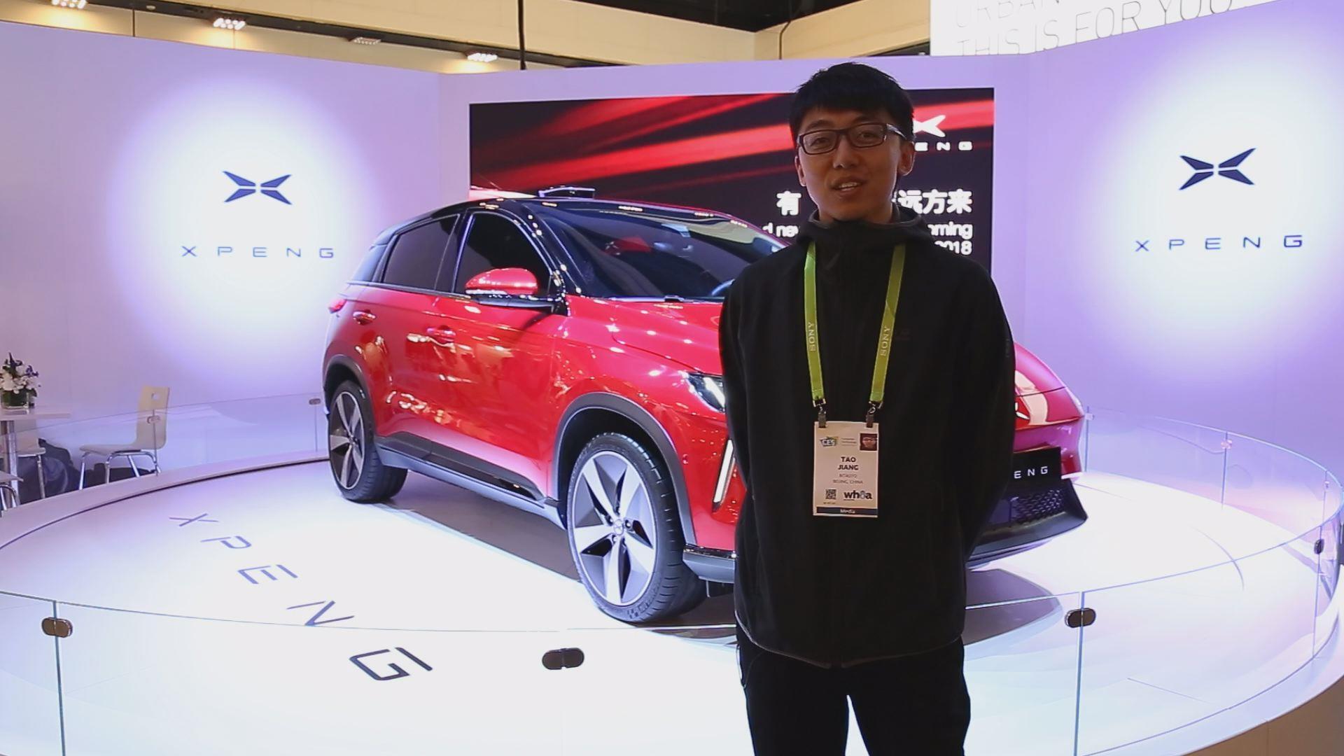 韬客CES展体验小鹏汽车G3 又一款全新的电动汽车