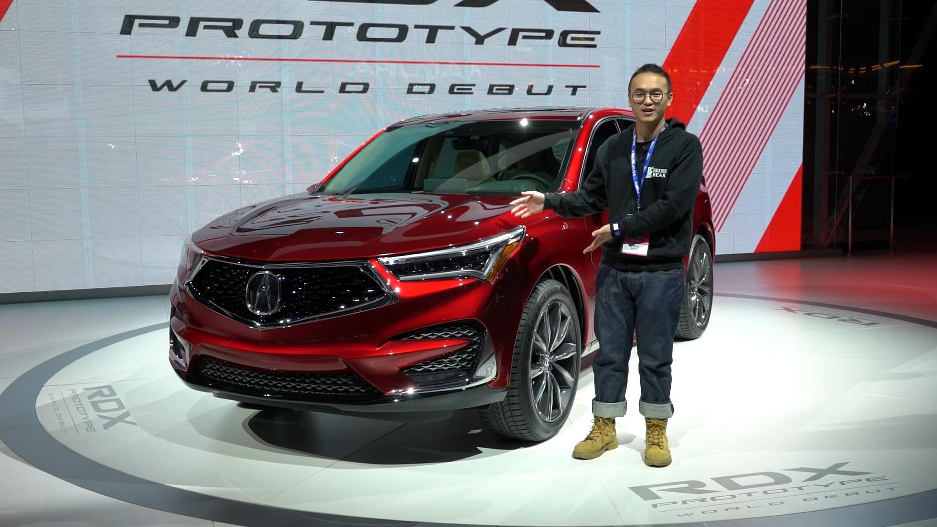2018北美车展 讴歌全新RDX 科技感与肌肉感的结合