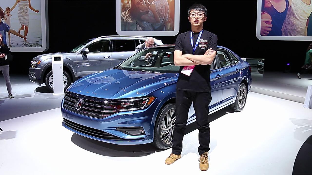 2018北美车展 大众全新捷达 技术更先进的紧凑家轿