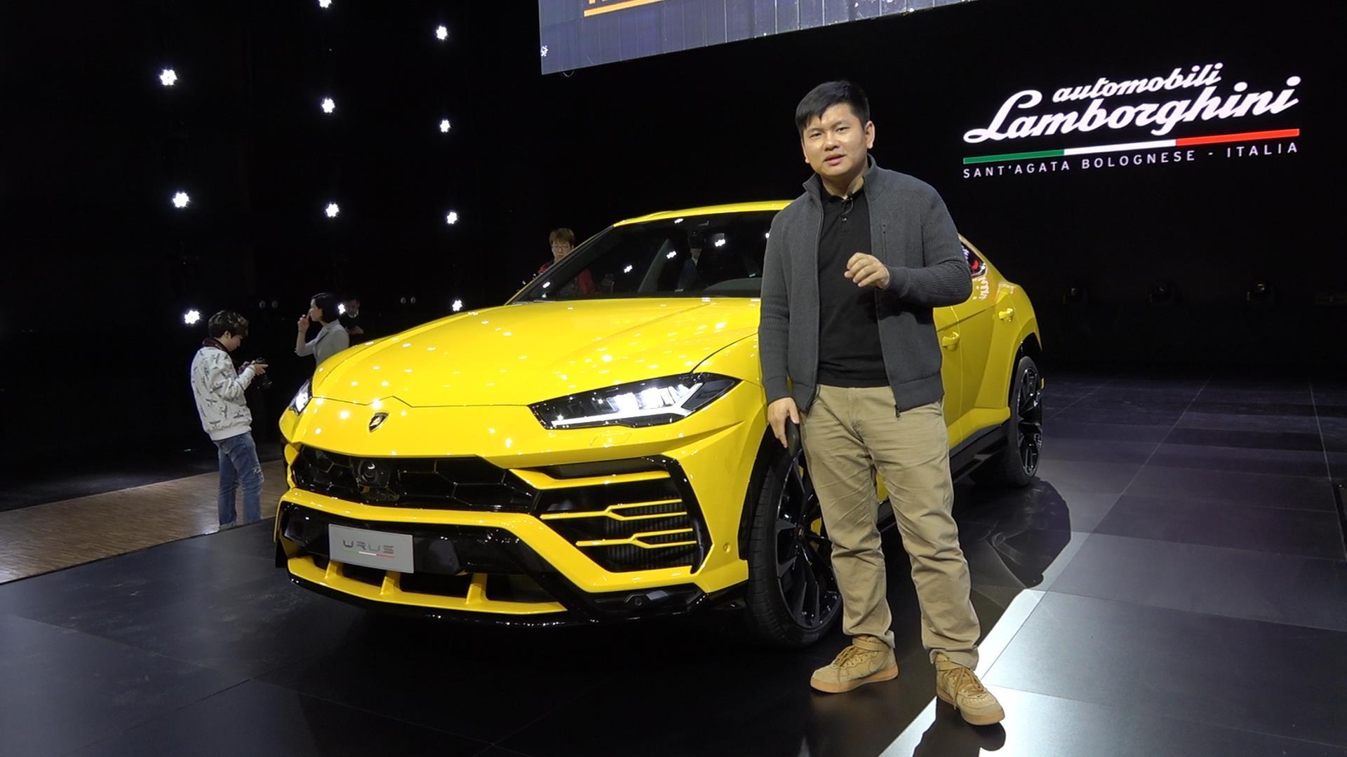韩路体验兰博基尼Urus,量产最快汽油SUV