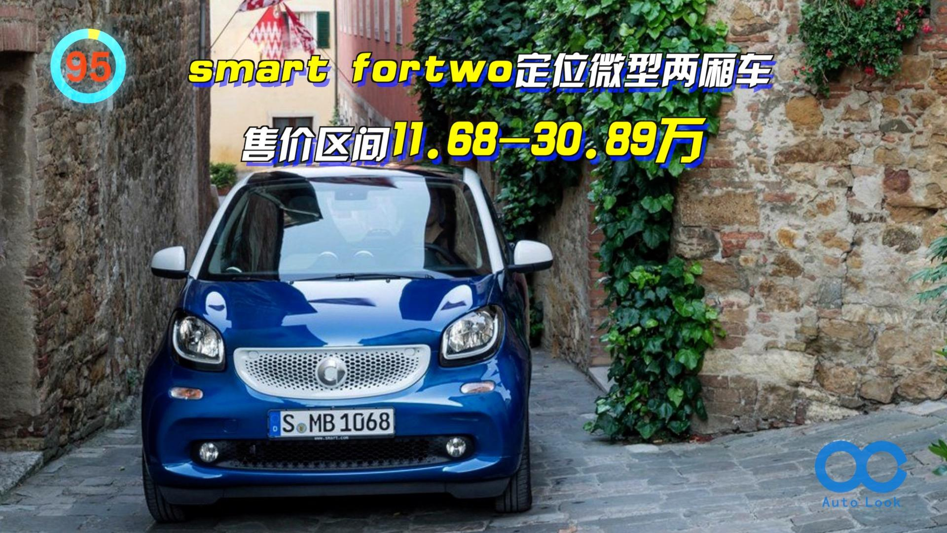 「百秒看车」smart fortwo 与雷诺同平台 内置后驱
