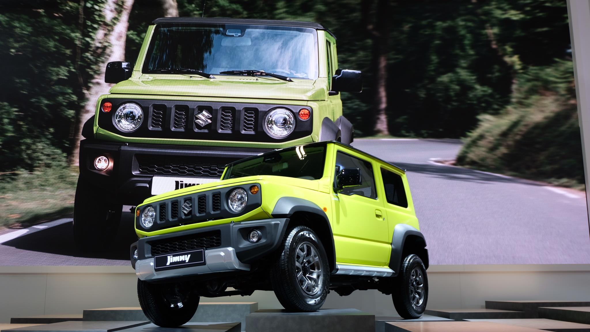 体验新铃木吉姆尼,最有趣的玩具车却无缘中国市场?