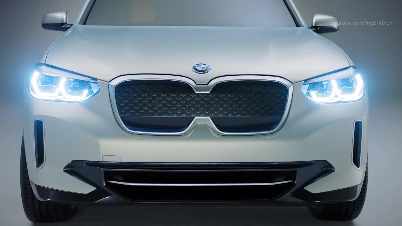 电动车新时代的开始!一起来看看宝马iX3概念车