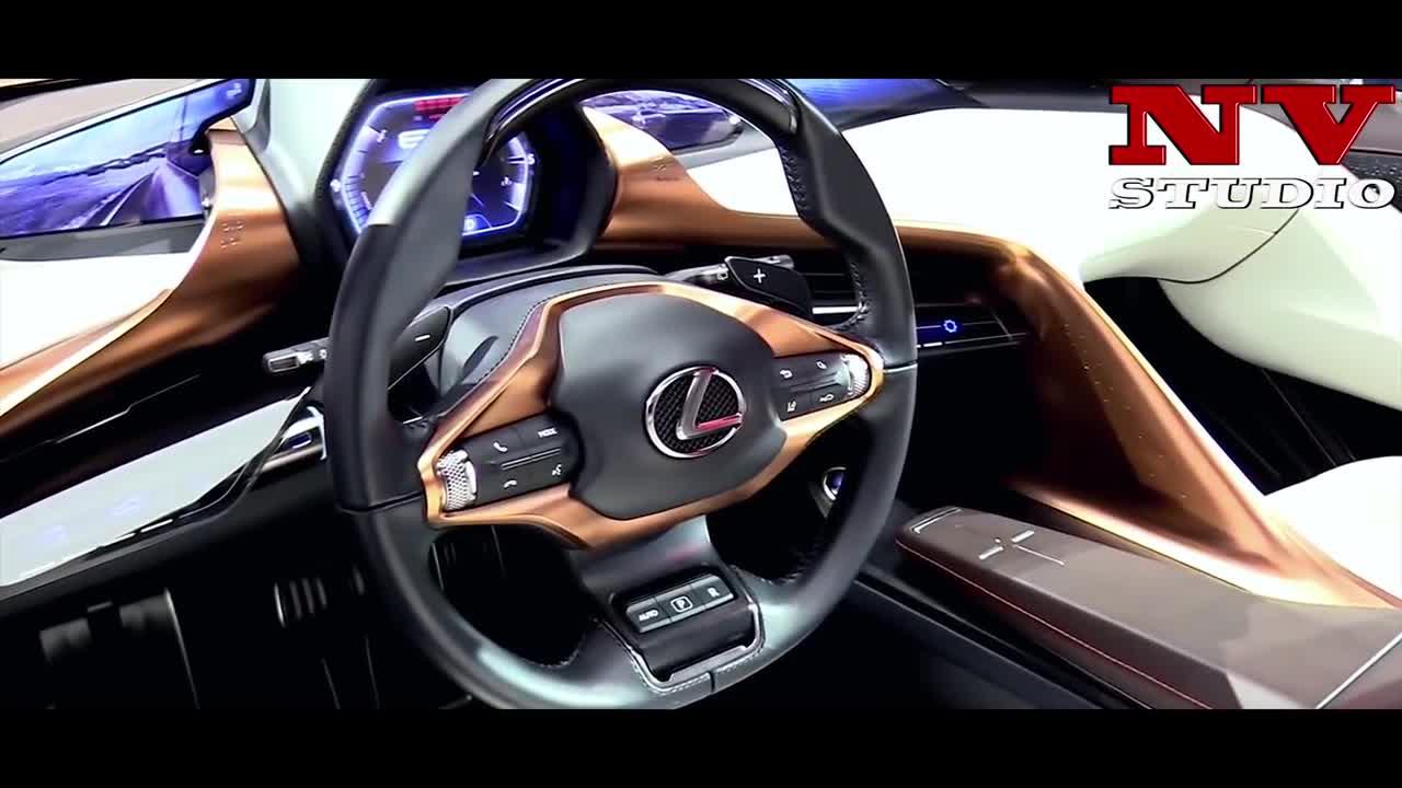 2019新款雷克萨斯LF 1混合动力和全电动车型