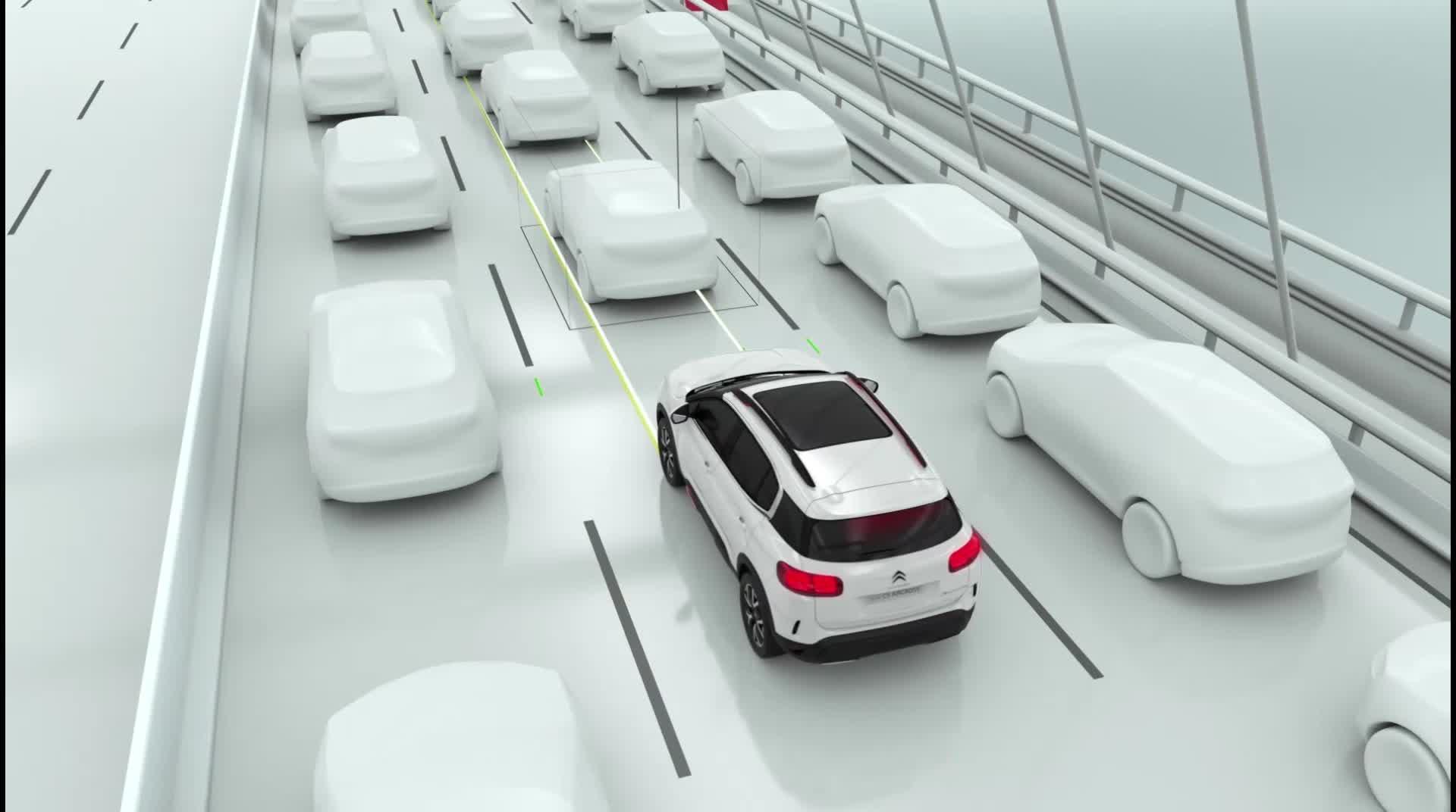 雪铁龙天逸高级驾驶辅助系统(ADAS)解析