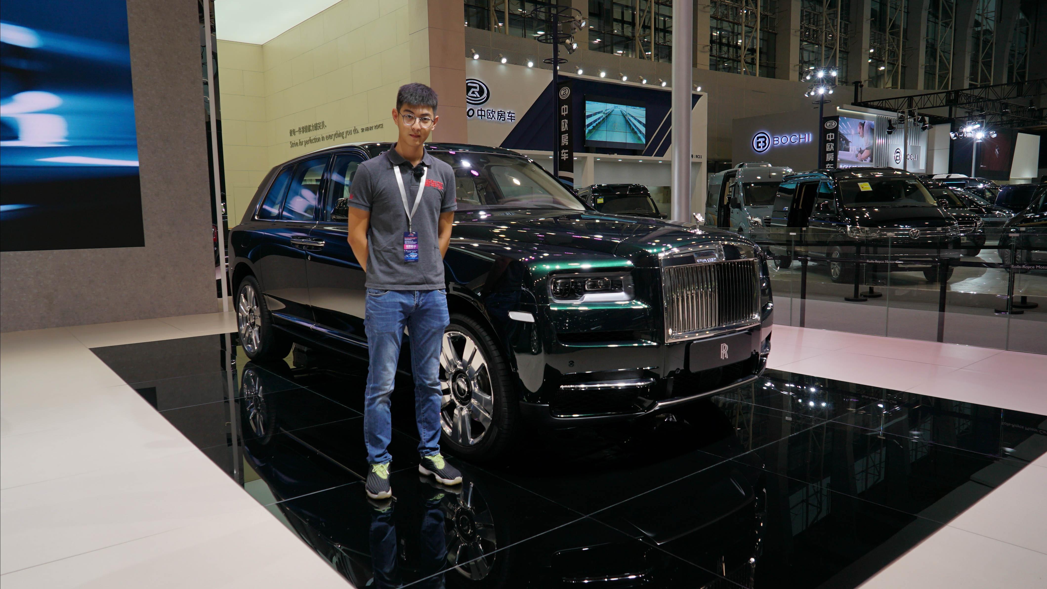 2018广州车展新车快评:劳斯莱斯库里南