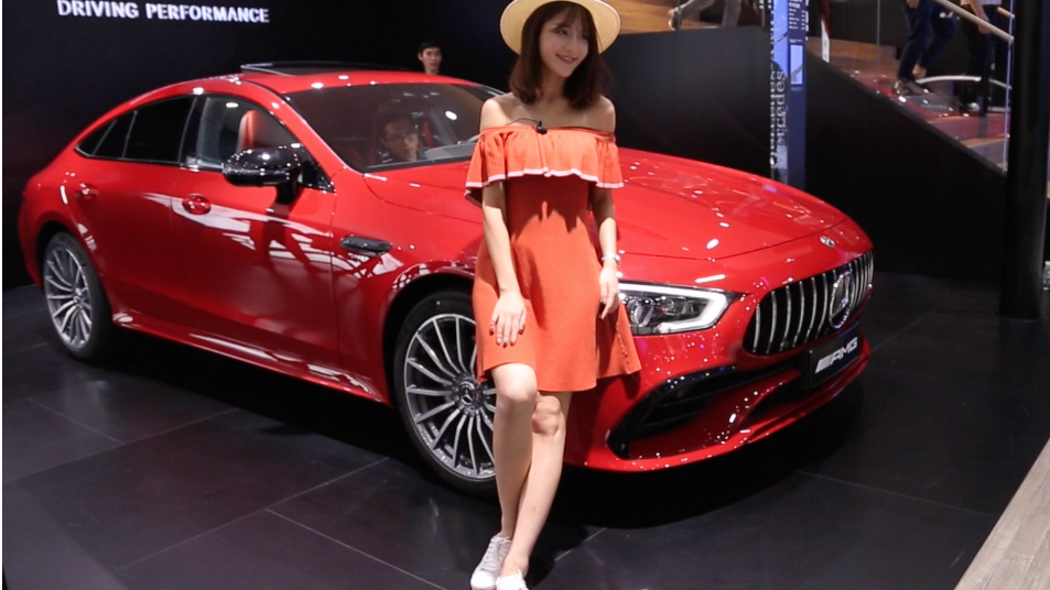 2018广州车展 奔驰AMG GT四门版国内首次亮相