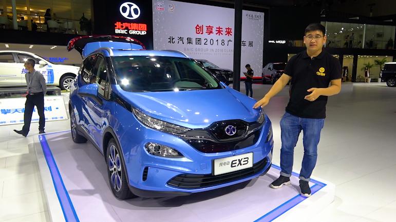 北汽新能源纯电动跨界SUV,将于明年上市