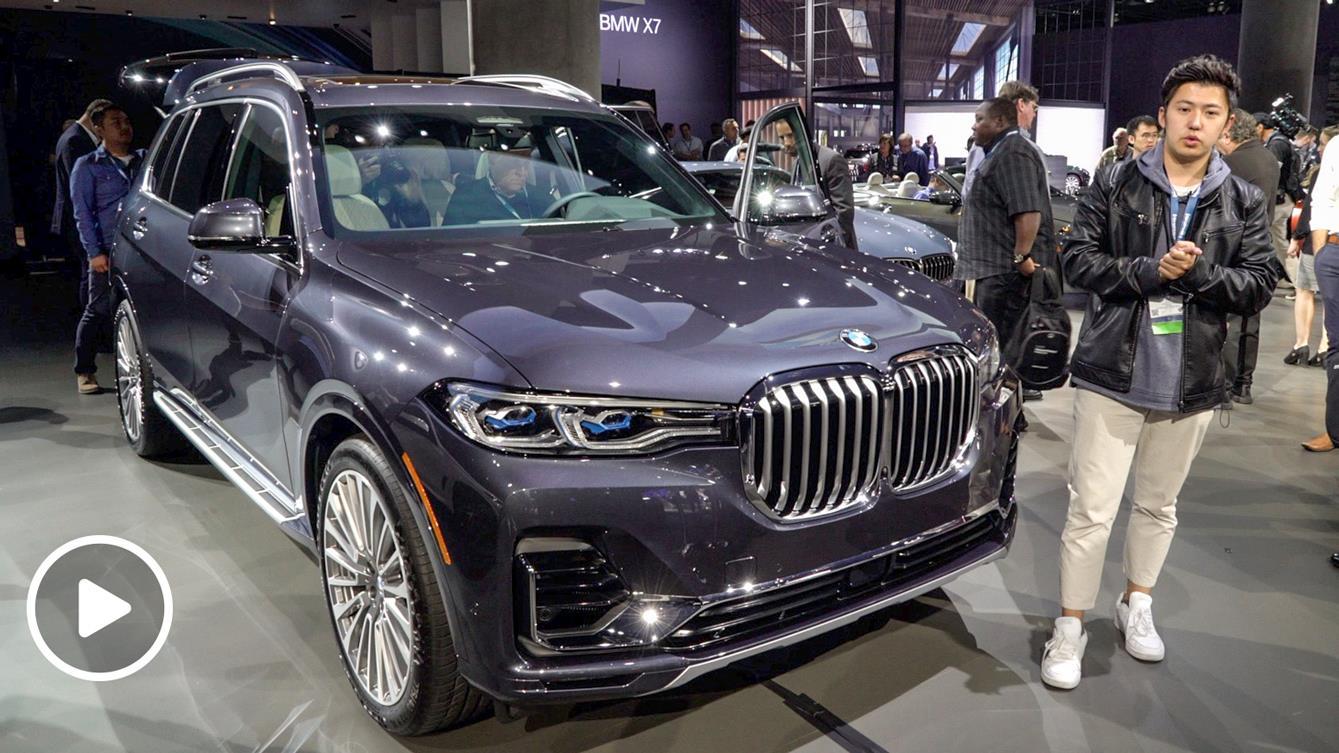 2018洛杉矶车展 韩瑞详解宝马X7全尺寸旗舰SUV