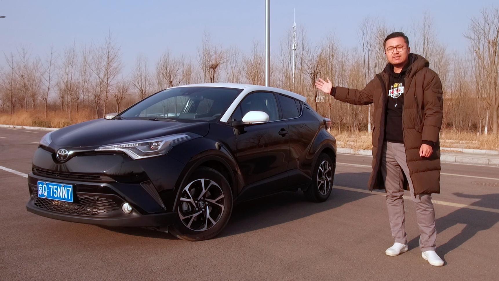 颜值和驾驶感受都爆表的小型SUV广汽丰田C-HR