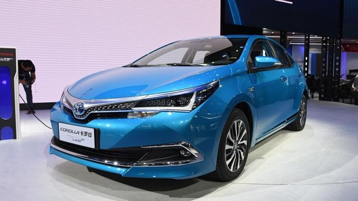 综合油耗1.3升推4款车型 插电混动卡罗拉明年3月上市