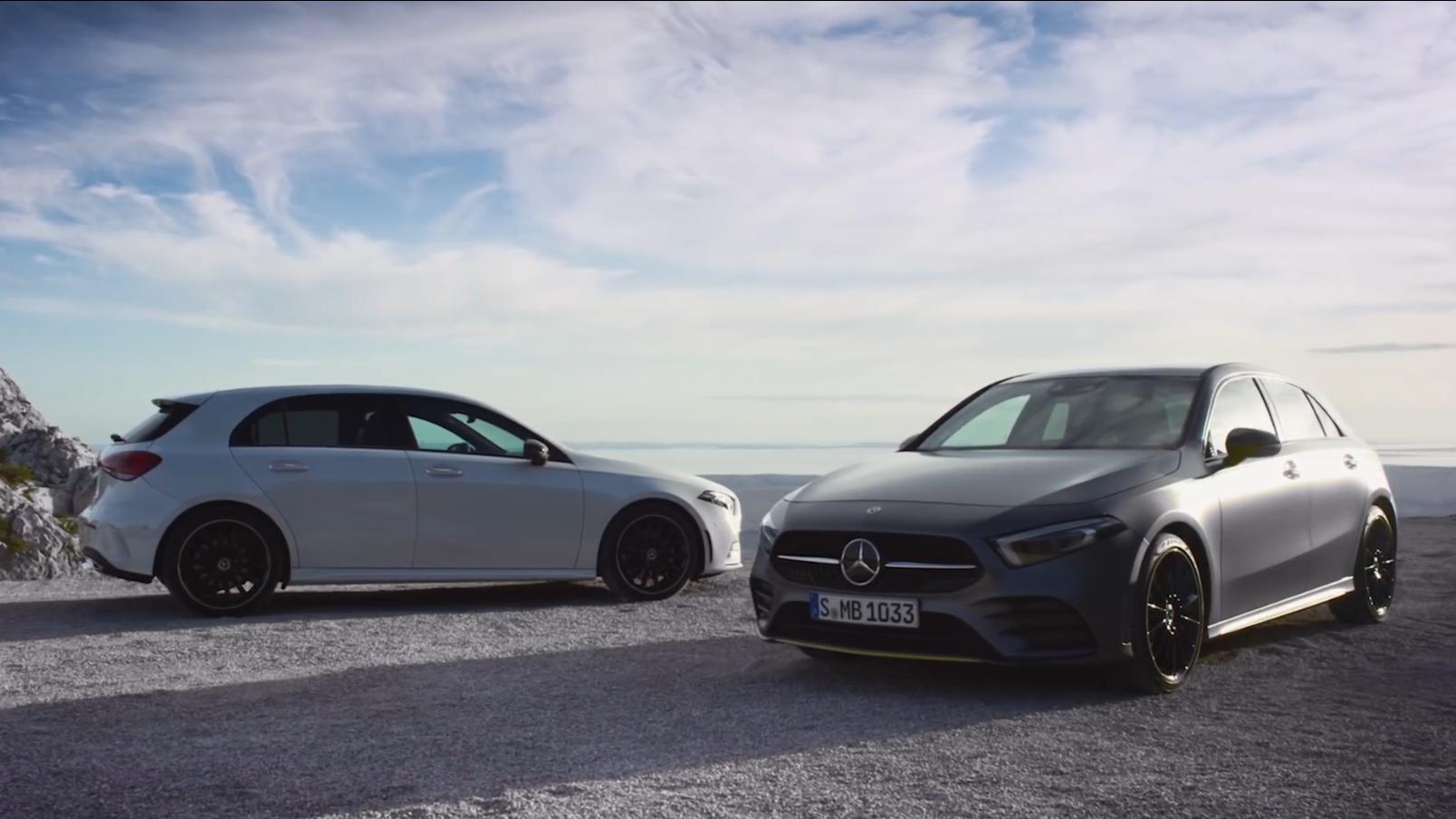 全球首秀:Mercedes-Benz A-Class 2018