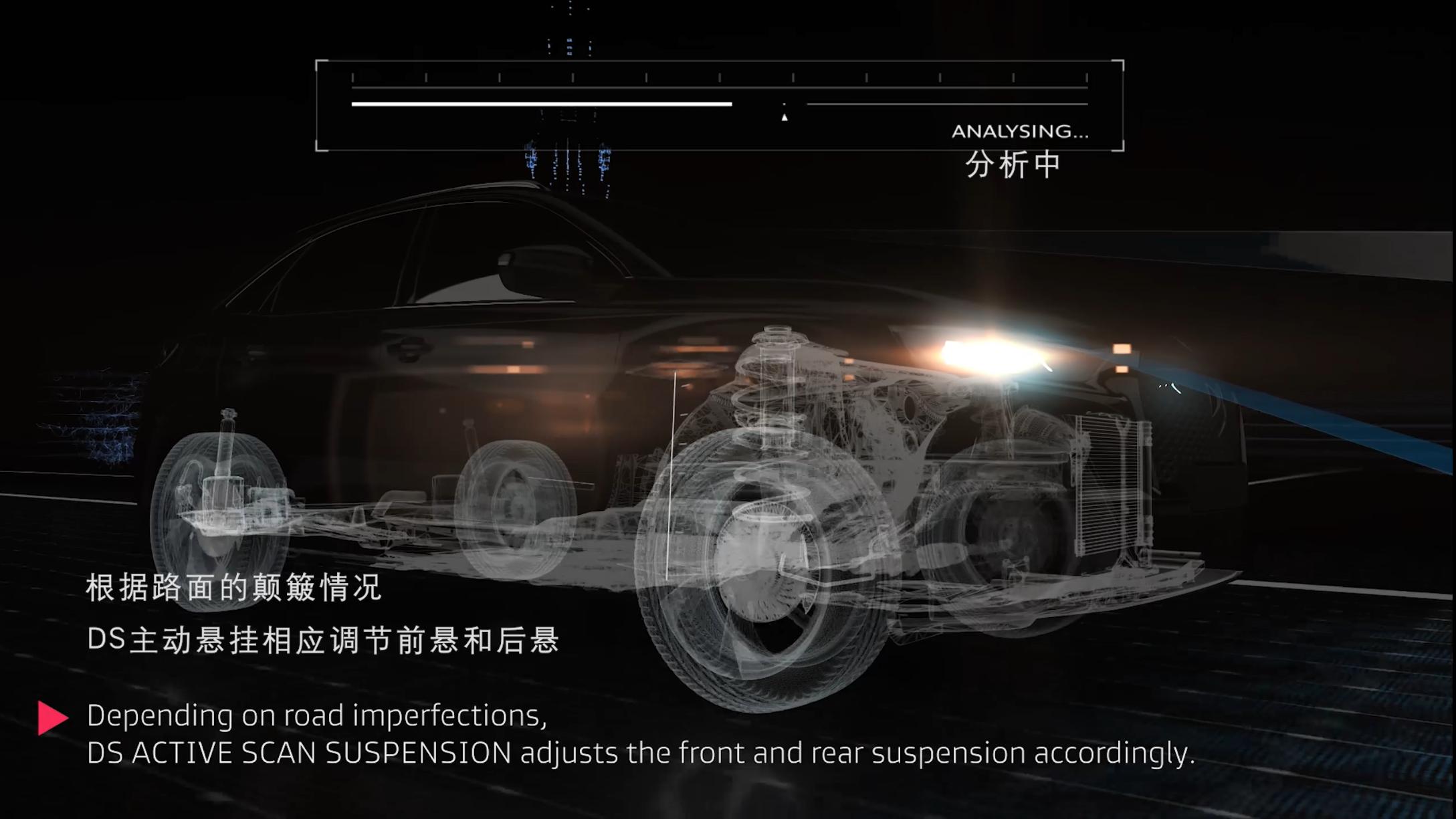 DS7主动感应式悬挂