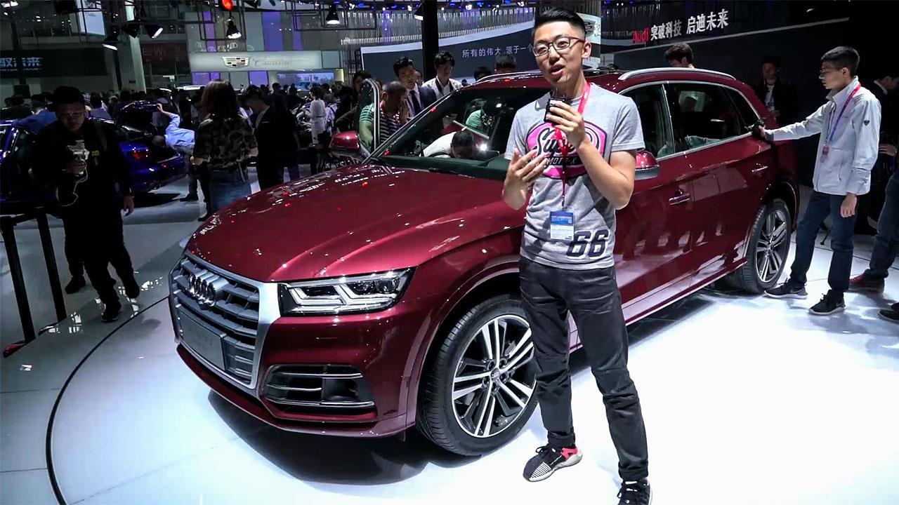韬客北京车展体验奥迪Q5L 一切的等待都是值得的