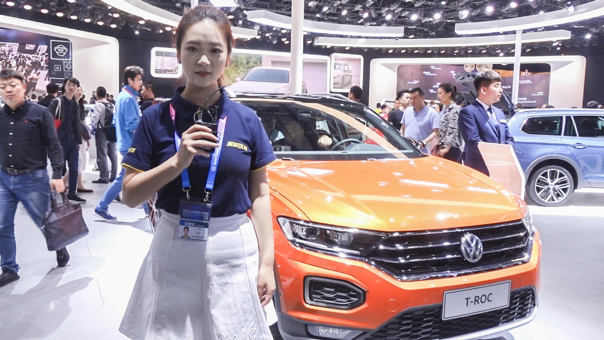 轴距比国外加长77mm 北京车展解析一汽大众探歌