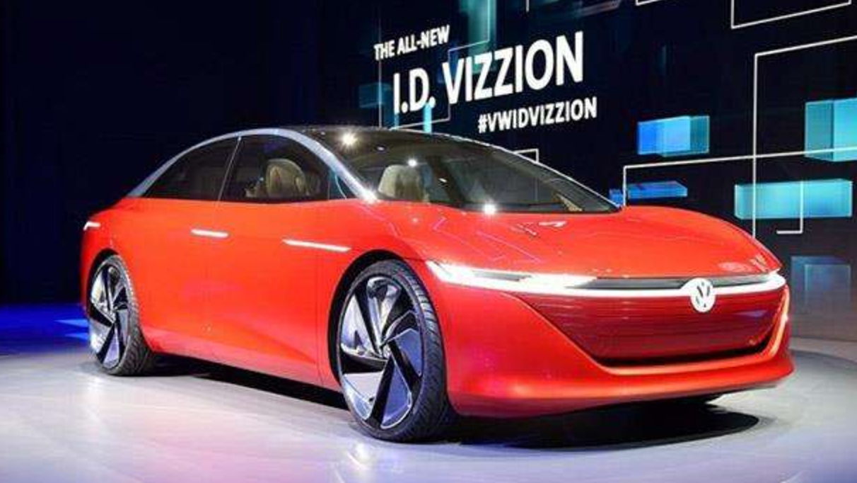 2018北京车展 大众I.D. Vizzion概
