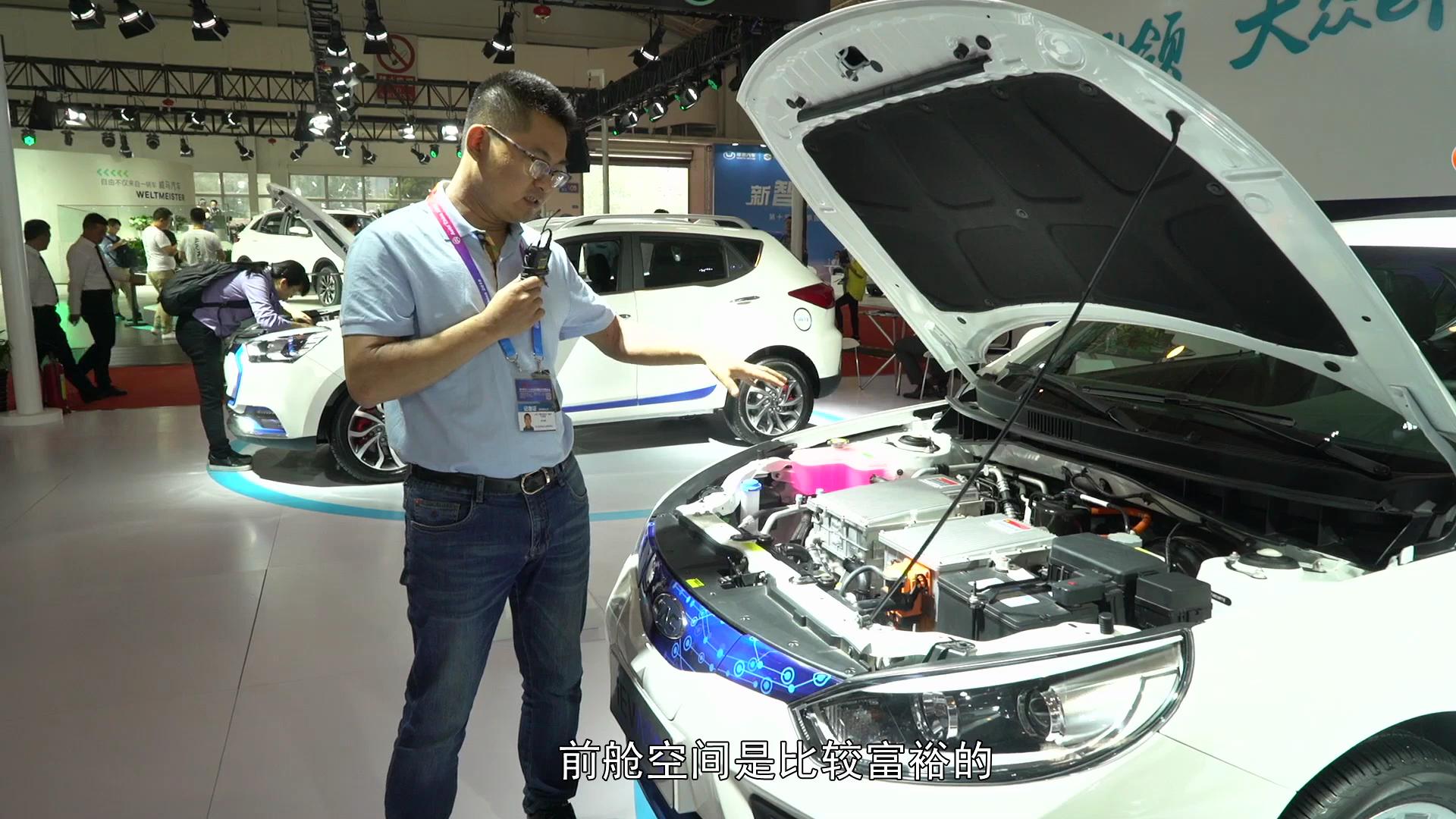 江淮新能源汽车iEVA50正式上市,老司机实车测