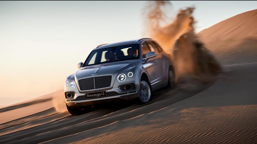 顶级豪华SUV越野能力怎么样?宾利添越有8种驾驶模式