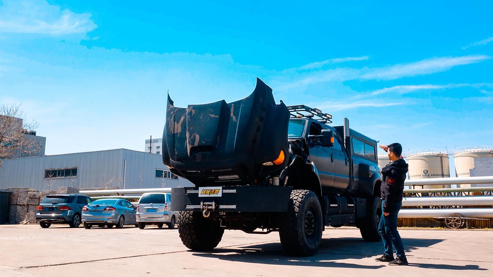 比迈巴赫62长 比乌尼莫克高 超级卡车F650猎奇
