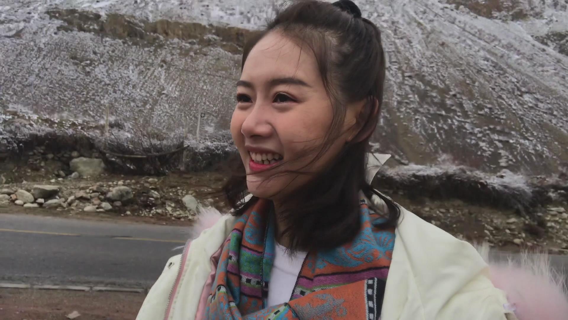 滇藏线游记第四天 妹子雪山斗牦牛 到达波密桃花沟