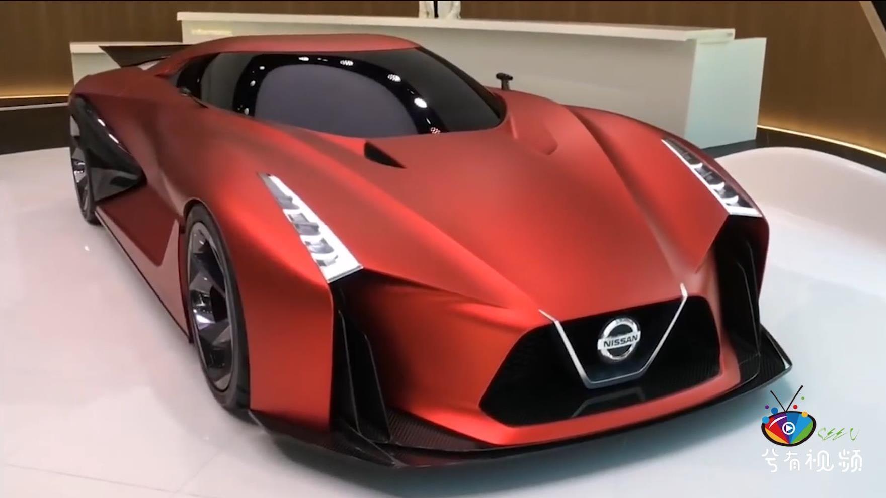 日产GTR Skyline R36概念车,百公里加速2.7S
