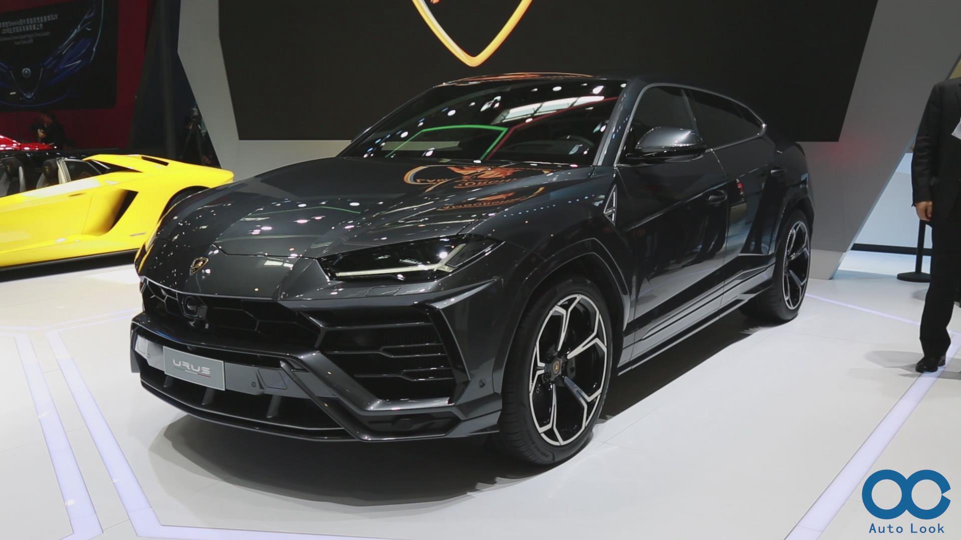 兰博基尼首款SUV-Urus北京车展 实拍详解