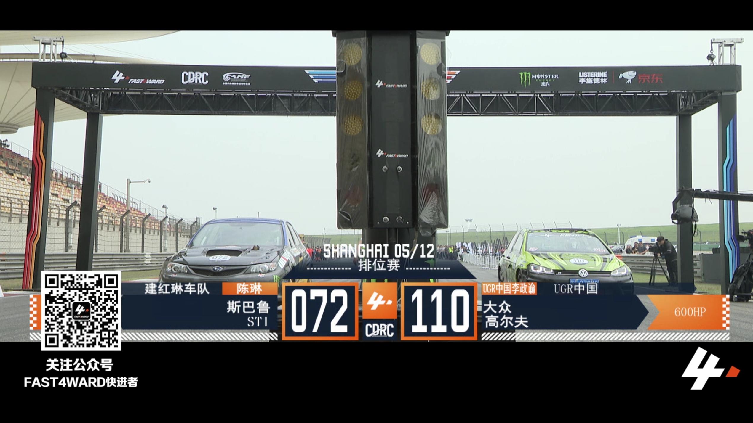 FAST4WARD 上海站 斯巴鲁stl vs 大众高尔夫