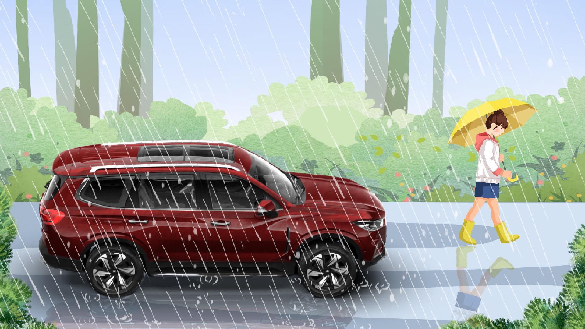 史上最全雨季行车宝典,新老司机都要注意!