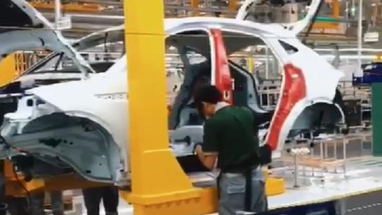捷豹E-PACE常熟工厂生产线实拍,看国产制造水平如何