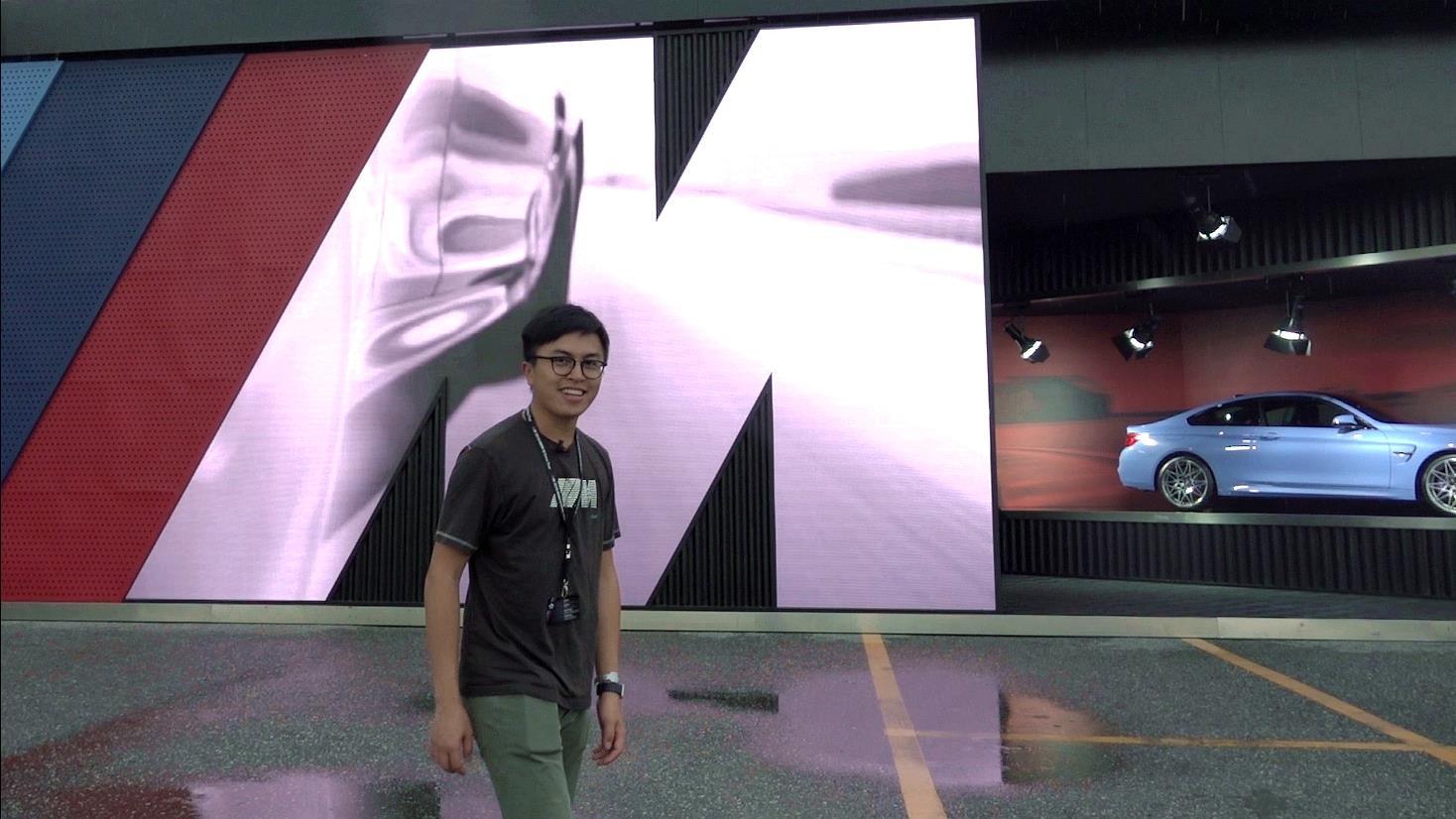 时隔两年 谭劲棠又去了一趟BMW M驾控体验日