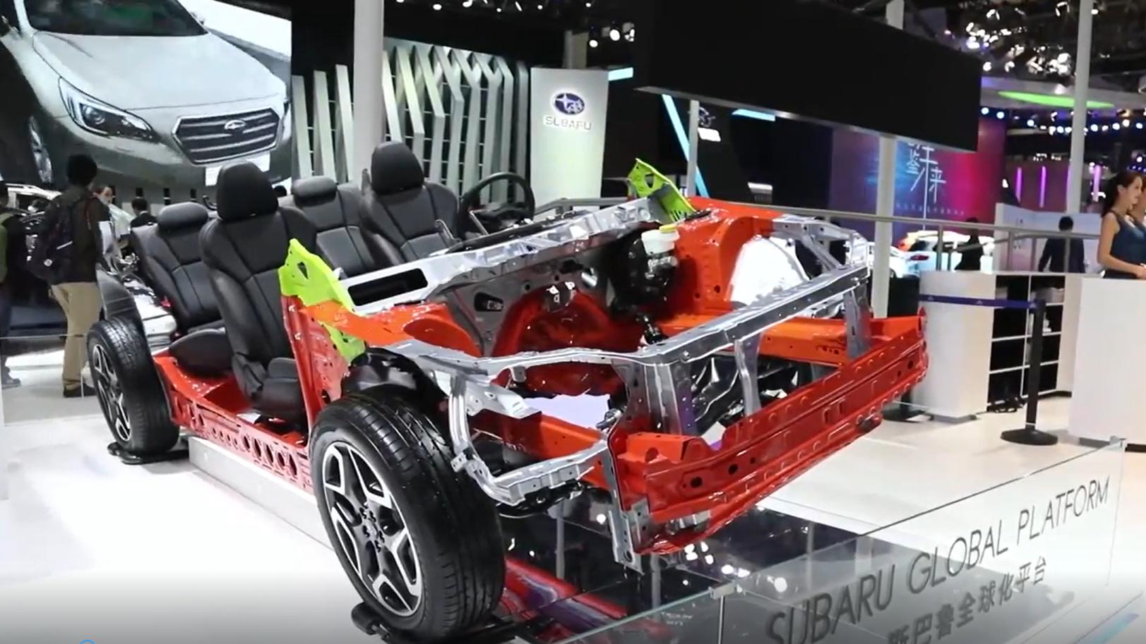 斯巴鲁也赶新能源潮流,2.0L+AWD全时四驱,月底上市