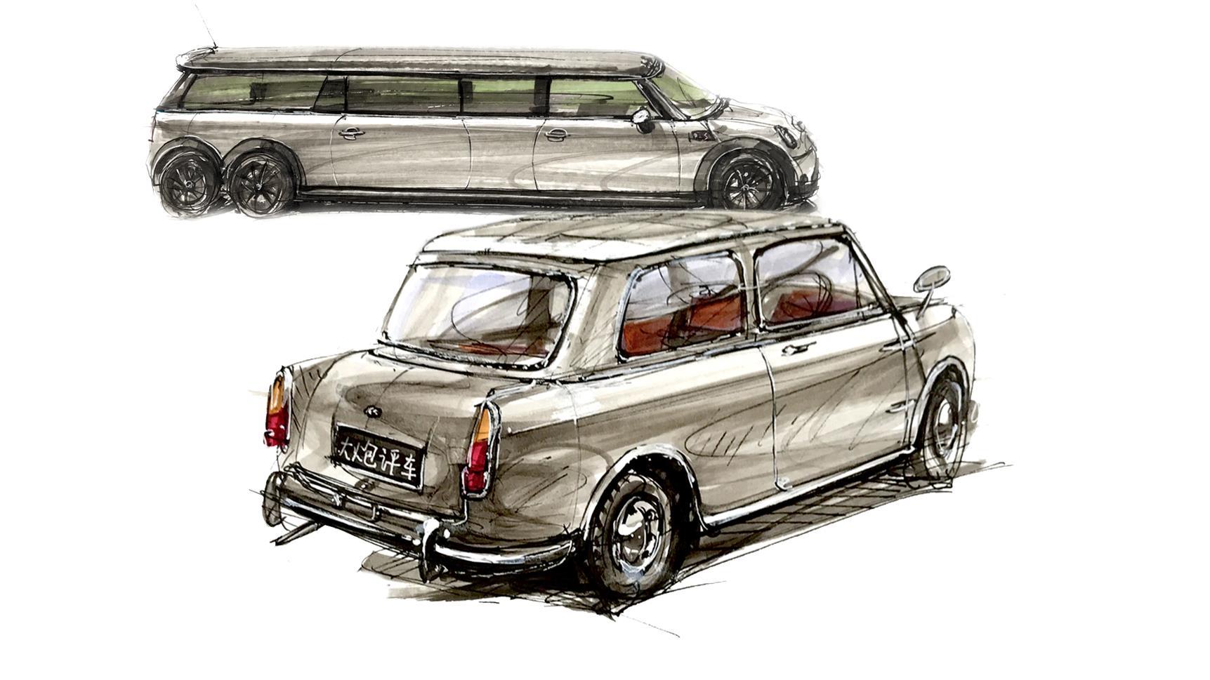 大炮评车:变种了的MINI车型,你见过吗?