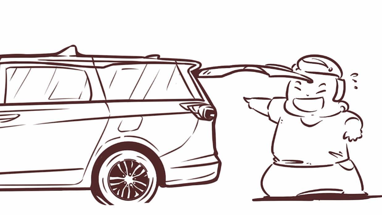"""画汽车·现实版""""我不是药神"""" 代购都用这款车运输"""
