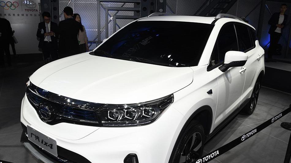 广汽丰田纯电SUV ix4上市 补贴后仅16.38万