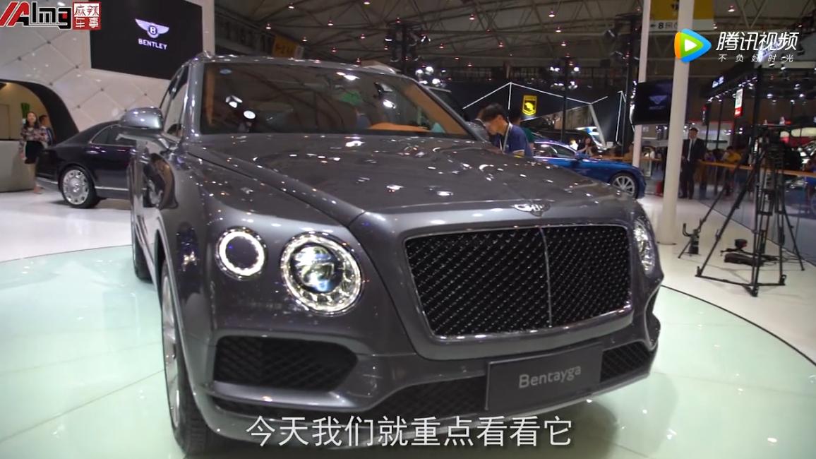 宾利添越V8亮相成都,引爆豪车市场丨车展专题