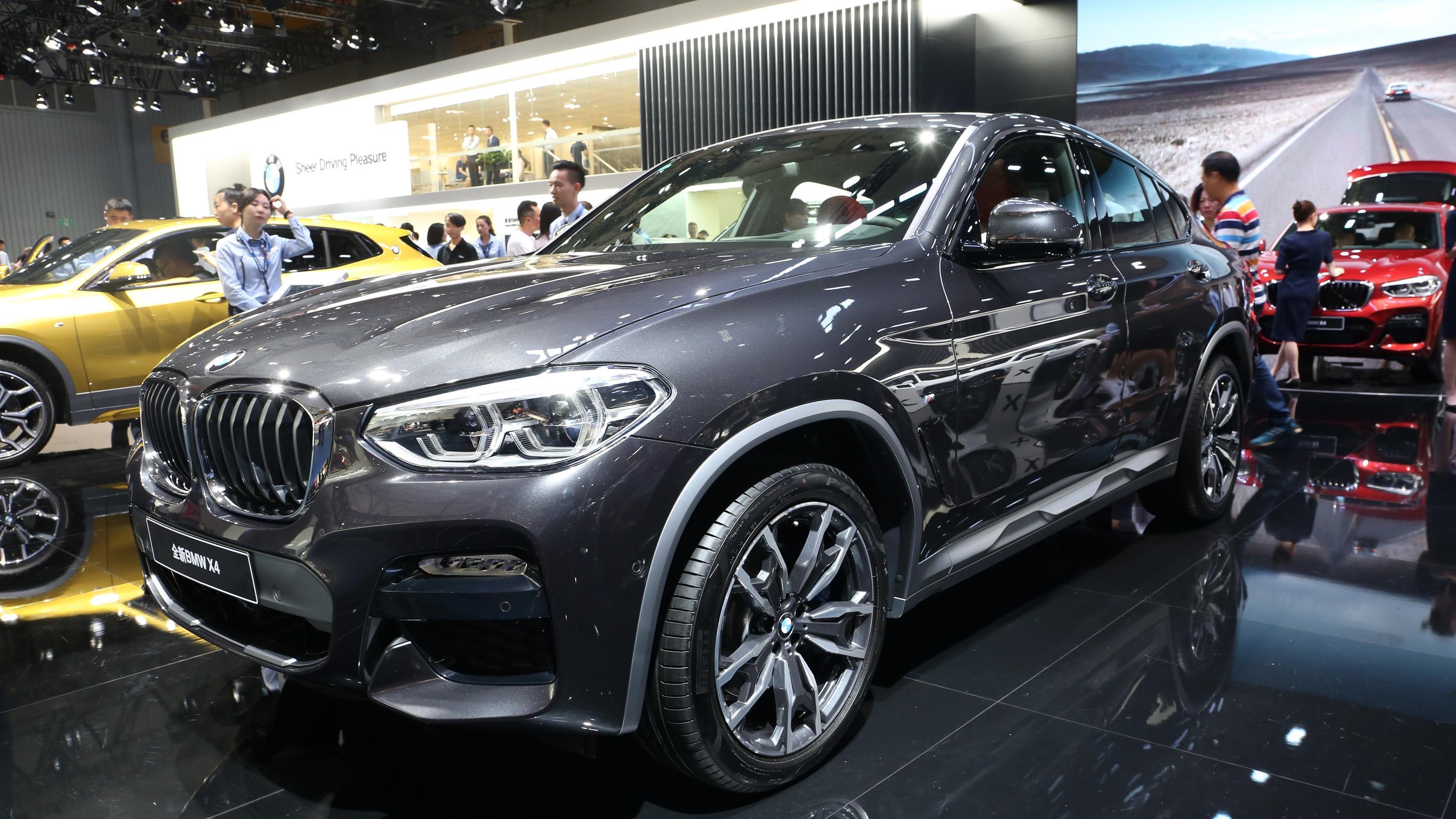 比X6便宜30万,楠姐成都车展体验全新一代宝马X4