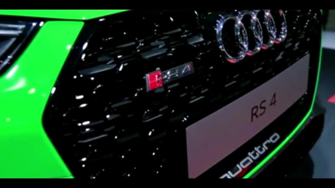 搭保时捷发动机的奥迪RS4 Avant现身 一季度国内上市