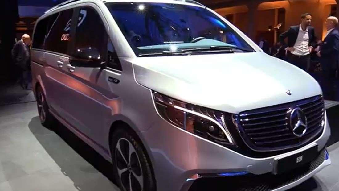 奔驰的电动商务车,2020款奔驰EQV 300你们有兴趣吗?