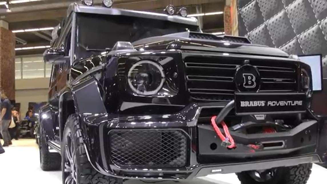 力量和豪华的味道让人着迷,2020款奔驰G 350D巴博斯定制版