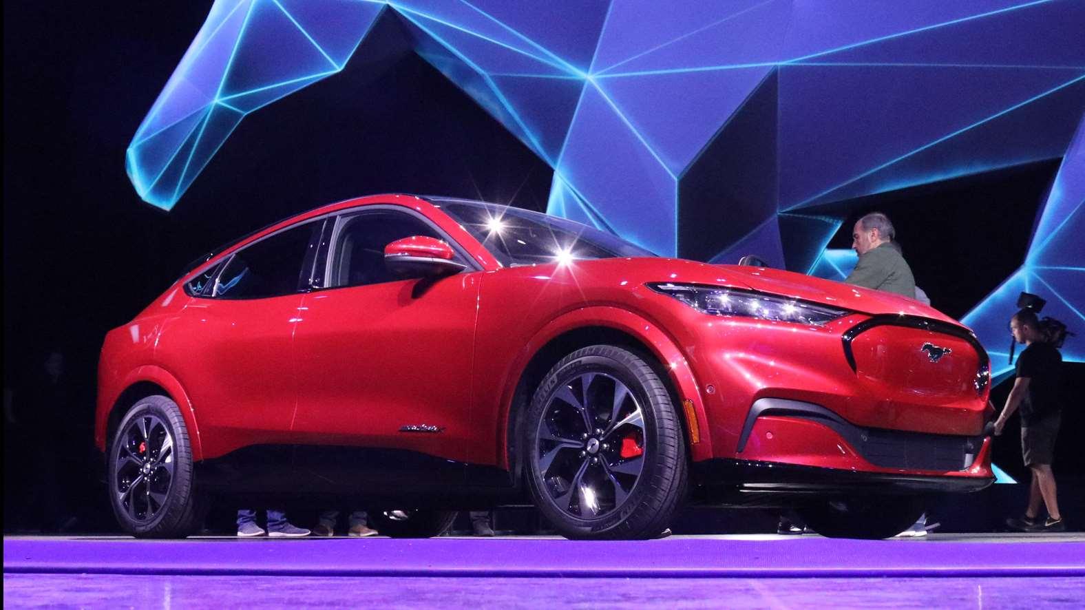 新出行在现场|福特Mustang Mach-E全球首发现场速览