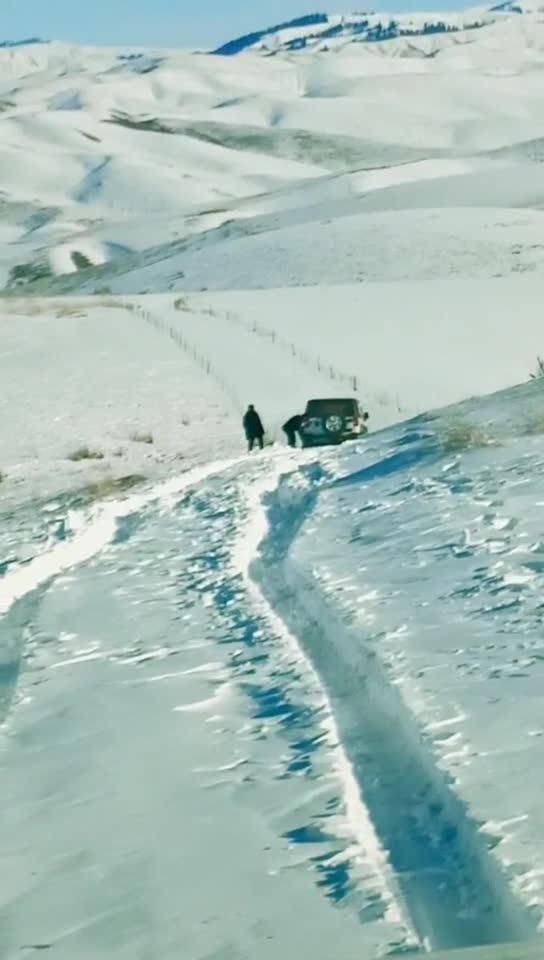 【视频】焦吾尔山穿越途中!